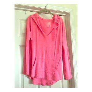 Pink SO V neck sweatshirt